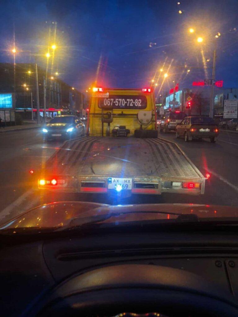 перевозка авто после дтп эвакуатор
